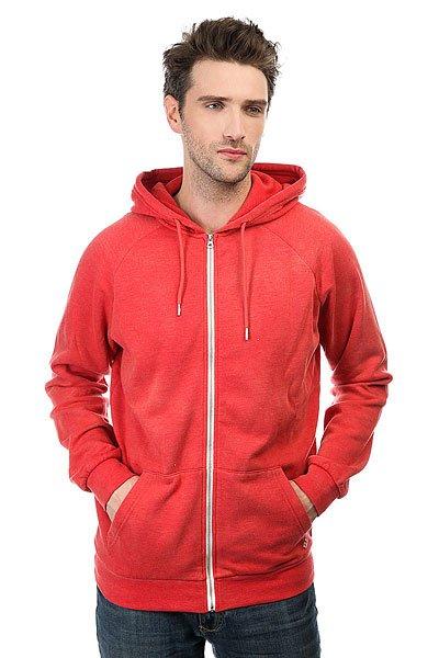 Толстовка классическая Quiksilver Culvercrest Cardinal<br><br>Цвет: красный<br>Тип: Толстовка классическая<br>Возраст: Взрослый<br>Пол: Мужской