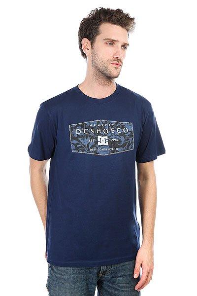 Футболка DC Regal Rags Roun Summer Blues<br><br>Цвет: синий<br>Тип: Футболка<br>Возраст: Взрослый<br>Пол: Мужской