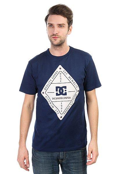 Футболка DC Long Day Summer Blues<br><br>Цвет: синий<br>Тип: Футболка<br>Возраст: Взрослый<br>Пол: Мужской