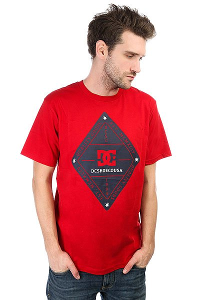 Футболка DC Long Day Chili Pepper рубашка в клетку dc shoes yorton ls chili pepper