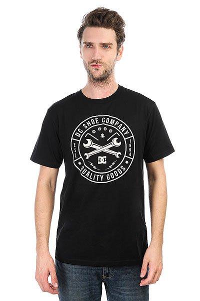 Футболка DC Equipment Black<br><br>Цвет: черный<br>Тип: Футболка<br>Возраст: Взрослый<br>Пол: Мужской