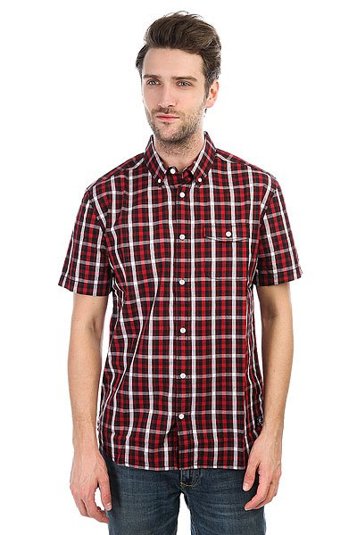 Рубашка в клетку DC Atura 5 Black рубашка в клетку dc runnels runnels winetasting