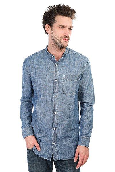 Рубашка DC Estevan Ls Indigo Chambray<br><br>Цвет: синий<br>Тип: Рубашка<br>Возраст: Взрослый<br>Пол: Мужской