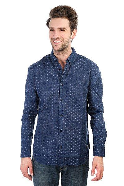 Рубашка DC Sidnaw Ls Blue Artisanal Print<br><br>Цвет: синий<br>Тип: Рубашка<br>Возраст: Взрослый<br>Пол: Мужской