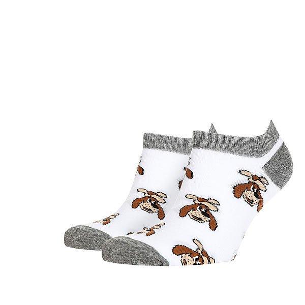 Носки низкие Запорожец Шарик Белые<br><br>Цвет: белый,мультиколор<br>Тип: Носки низкие<br>Возраст: Взрослый<br>Пол: Мужской
