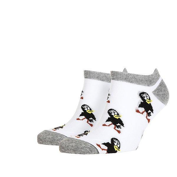 Носки низкие Запорожец Галчонок Белые