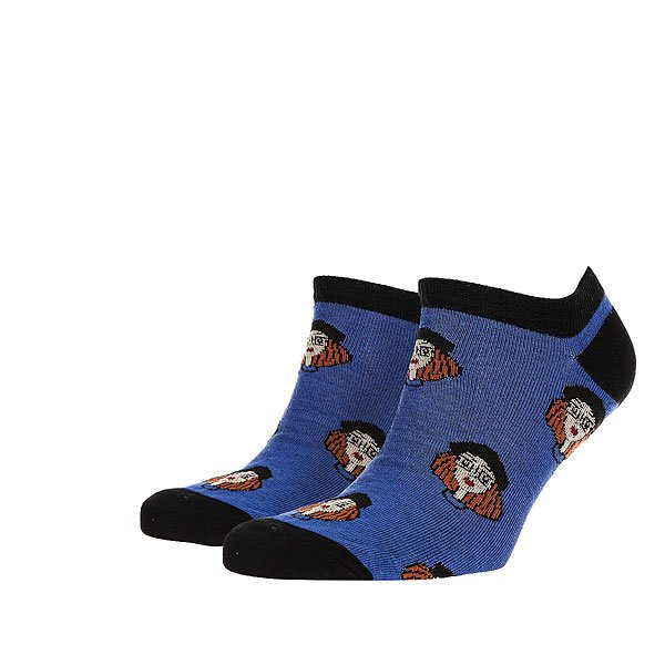 Носки низкие Запорожец Мама Светло Синие