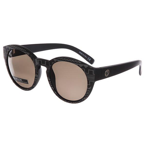 Очки женские Roxy Mellow Matte Black-Print очки женские roxy thalia black gold blue