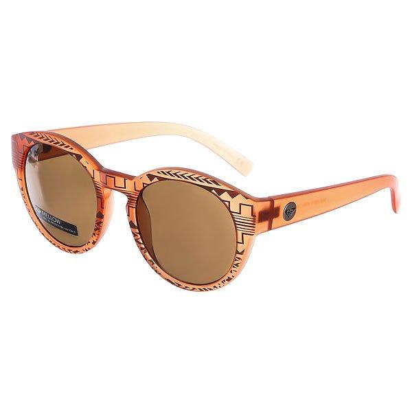 Очки женские Roxy Mellow Matte Crystal Champa<br><br>Цвет: коричневый<br>Тип: Очки<br>Возраст: Взрослый<br>Пол: Женский