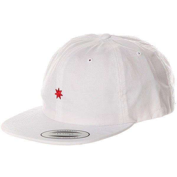 Бейсболка с прямым козырьком DC Skate Dcon Hat White<br><br>Цвет: белый<br>Тип: Бейсболка с прямым козырьком<br>Возраст: Взрослый