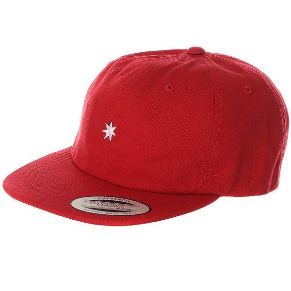 Бейсболка с прямым козырьком DC Skate Dcon Hat Chili Pepper<br><br>Цвет: красный<br>Тип: Бейсболка с прямым козырьком<br>Возраст: Взрослый