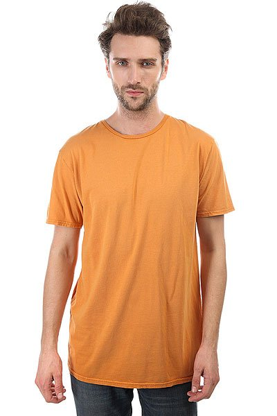 Футболка Quiksilver Acidsuntee Golden Oak<br><br>Цвет: оранжевый<br>Тип: Футболка<br>Возраст: Взрослый<br>Пол: Мужской