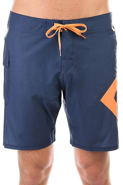 Шорты пляжные DC Lanai 18 Summer Blues<br><br>Цвет: синий,оранжевый<br>Тип: Шорты пляжные<br>Возраст: Взрослый<br>Пол: Мужской