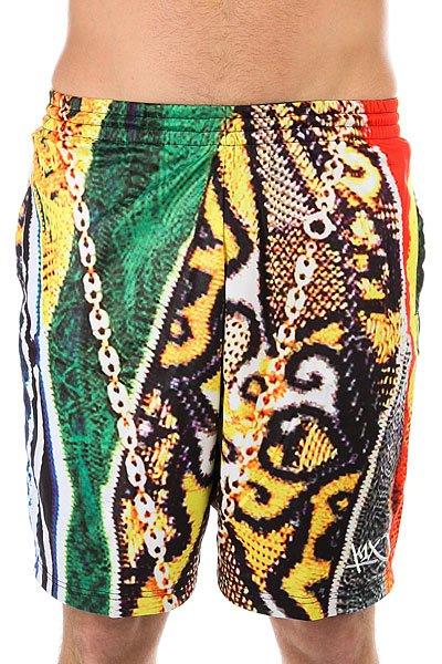 Шорты классические K1X Notorious Gnarly Shorts Multicolor<br><br>Цвет: мультиколор<br>Тип: Шорты классические<br>Возраст: Взрослый<br>Пол: Мужской