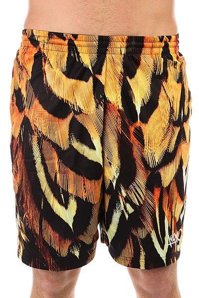 Шорты классические K1X Feather Gnarly Shorts Orange/Black<br><br>Цвет: желтый,оранжевый,черный<br>Тип: Шорты классические<br>Возраст: Взрослый<br>Пол: Мужской