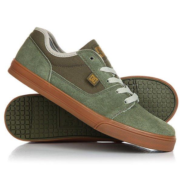 Кеды кроссовки низкие детские DC Tonik Green/GumСамое главное в детской обуви - этоудобная подошваи хорошая вентиляция. В DC Tonik TX SE все это присутствует: гибкая вулканизированная подошва, используемая в скейтбордической обуви не только дает прекрасное чувство доски, но и дарит комфорт и легкость, а прочный текстиль обладает дышащими свойствами.Характеристики:Классический скейтовый дизайн.Металлические люверсы для шнурков. Вшитый логотип DC сбоку и на язычке.Сплошной бесшовный нос: меньше вероятность повреждений обуви. Гибкая и износостойкая резиновая подошва. DC Pill Pattern – фирменный рисунок протектора подошвы. Вулканизированная конструкция подошвы обеспечивает феноменальный контроль над доской и лучшую гибкость.<br><br>Цвет: зеленый<br>Тип: Кеды низкие<br>Возраст: Детский