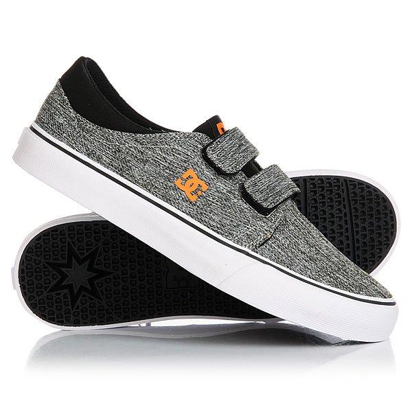 Кеды кроссовки низкие детские DC Trase V Black/Grey