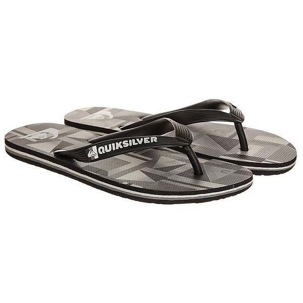 Вьетнамки Quiksilver Molochkremixyt Black/Grey