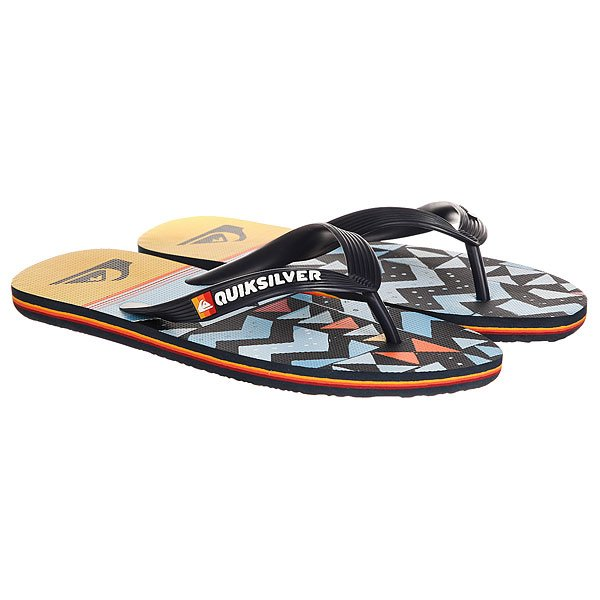 Вьетнамки Quiksilver Molokaislablapu Blue/Orange