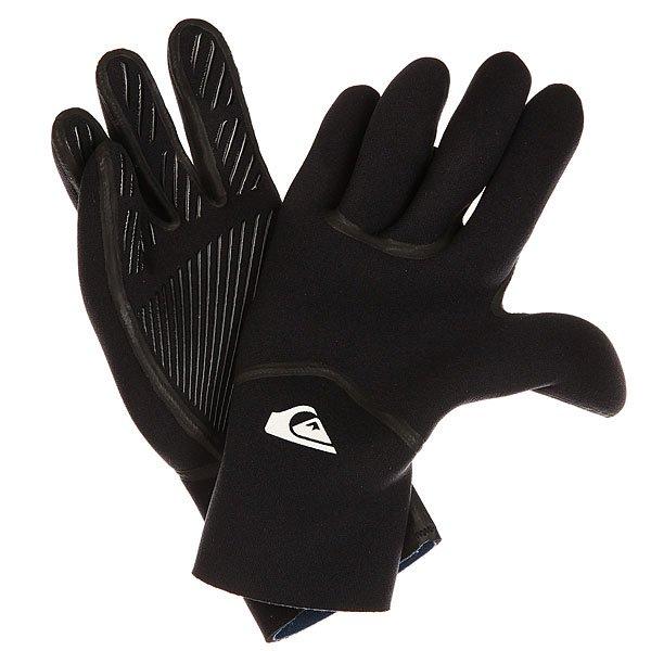 Купить со скидкой Перчатки (гидро) Quiksilver Syncro 3m 5fing Black