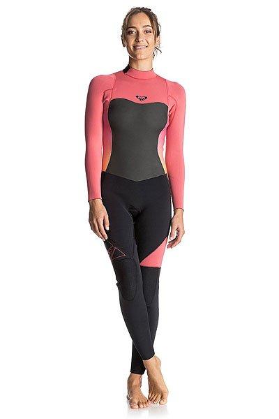 Гидрокостюм (Комбинезон) женский Roxy 43synbzfullgbs Paradise PinkДлинный женский гидрокостюм Syncro 4/3мм на спинной молнии.Технические характеристики: Микропористая структура неопрена FN Lite представляет собой множество пузырьков воздуха, что обеспечивает ему малый вес и при этом позволяет эффективно удерживать тепло.Неопрен Thermal Smoothie – это ветро- и водонепроницаемый материал, который отличается исключительной эластичностью.Термоподкладка WarmFlight с инфракрасной технологией FAR InfraRed.Проклеенные швы GBS сводят к минимуму повреждение неопрена от строчки иглой и предотвращают попадание воды под гидрокостюм.Спинная молния YKK® #10.Технологии водостойкости Hydroshield.Регулируемый фиксатор воротника Hydrowrap создает надежный и герметичный водонепроницаемый барьер.Легкие, эластичные и прочные эргономичные наколенники Ecto-Flex защищают ваши колени и ваш серф.<br><br>Цвет: розовый,черный<br>Тип: Гидрокостюм (Комбинезон)<br>Возраст: Взрослый<br>Пол: Женский