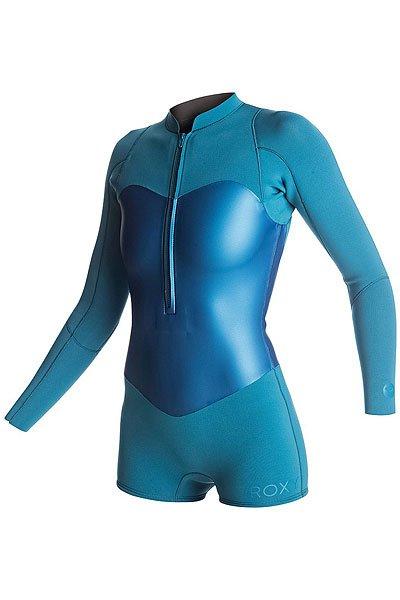 Гидрокостюм (Комбинезон) женский Roxy Pop2mlssprgsuit Blue AsterКороткий женский гидрокостюм Pop Surf 2мм с длинным рукавом и нагрудной молнией.Технические характеристики: Микропористая структура неопрена FN Lite представляет собой множество пузырьков воздуха, что обеспечивает ему малый вес и при этом позволяет эффективно удерживать тепло.Проклеенные швы GBS сводят к минимуму повреждение неопрена от строчки иглой и предотвращают попадание воды под гидрокостюм.Нагрудная молния YKK®.<br><br>Цвет: синий,голубой<br>Тип: Гидрокостюм (Комбинезон)<br>Возраст: Взрослый<br>Пол: Женский