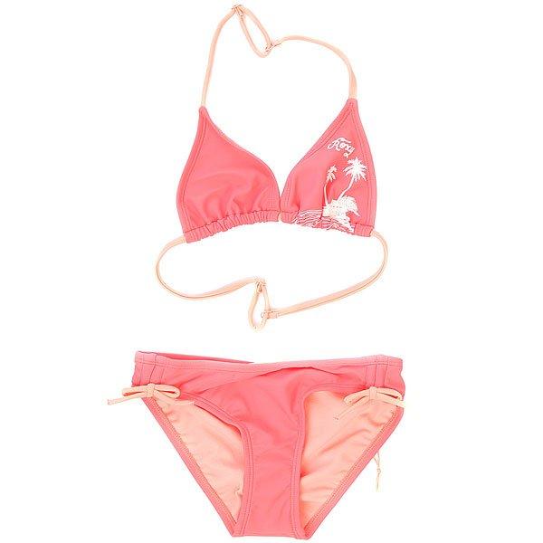 Купальник детский Roxy Essent Rox Tri G Neon Grapefruit<br><br>Цвет: розовый<br>Тип: Купальник<br>Возраст: Детский