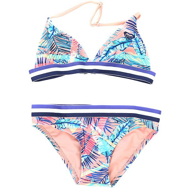 Купальник детский Roxy Retro Summer Tr G Candlelight Bali Pal