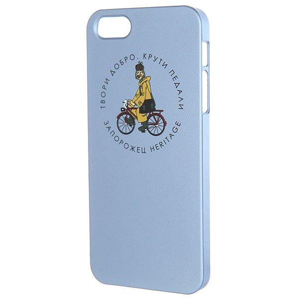 Чехол для iPhone Запорожец Простоквашино Печкин Iphone 5 Голубой<br><br>Цвет: голубой<br>Тип: Чехол для iPhone<br>Возраст: Взрослый<br>Пол: Мужской
