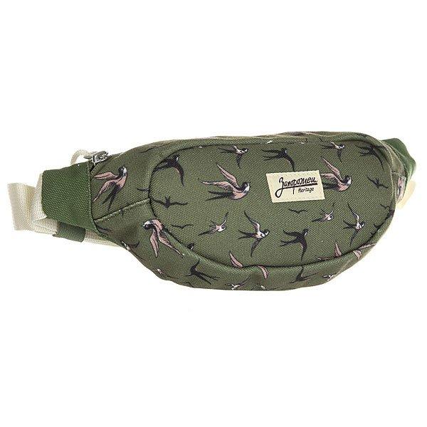 Сумка поясная Запорожец Smaller Waist Bag New Green