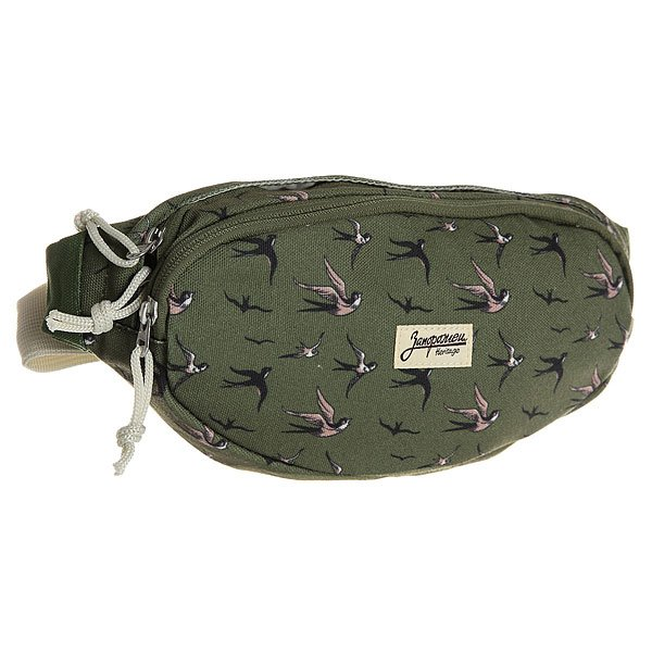 Сумка поясная Запорожец Canvas Waist Bag New Green
