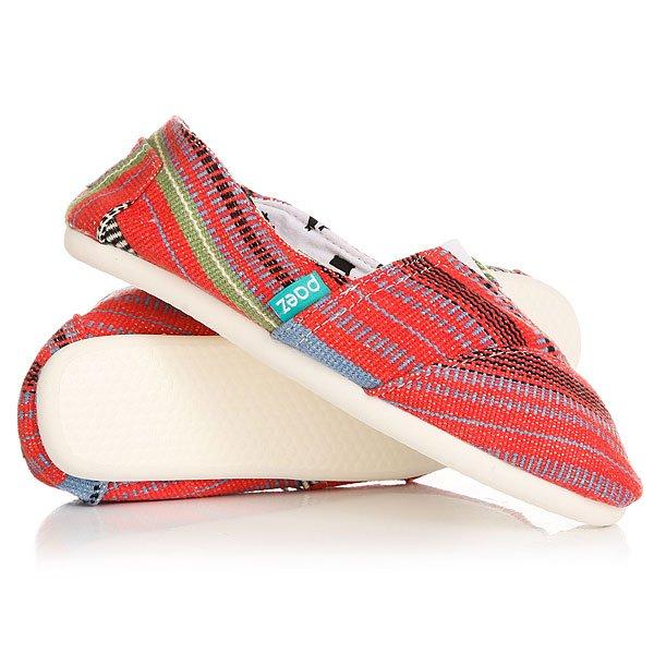 Эспадрильи женские Paez Folkies ArabicУдобная и легкая обувь на лето от аргентинского производителя - Paez. Стильные и качественные эспадрильи, с ортопедической стелькой, будут уместны при любой обстановке и станут отличным дополнением к Вашему гардеробу. Такая обувь отлично подойдет и для городских прогулок и для похода на пляж. Эспадрильи очень быстро сохнут и устойчивы к загрязнениям, что делает их универсальной обувью для всех!Характеристики:Быстро высыхают от влаги. Устойчивы к загрязнениям. Удобно снимаются и одеваются: вшитые резинки по бокам. Прочная отделка и качественные материалы. Удобная ортопедическая стелька из кожи с супинатором для поддержания свода стопы. Перфорация кожаной стельки обеспечивает дополнительную вентиляцию для Ваших ног. Двойная строчка с использованием прочной капроновой нити. Оплетка джутом.<br><br>Цвет: красный,голубой<br>Тип: Эспадрильи<br>Возраст: Взрослый<br>Пол: Женский