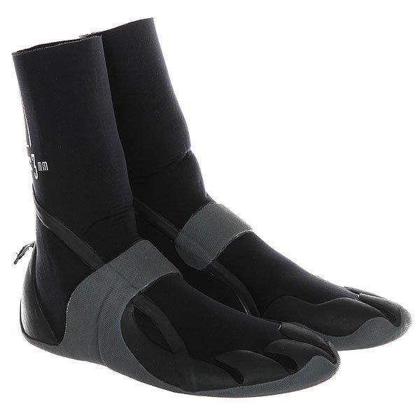 Гидроботинки Billabong Foil 3mm Boots Round Black