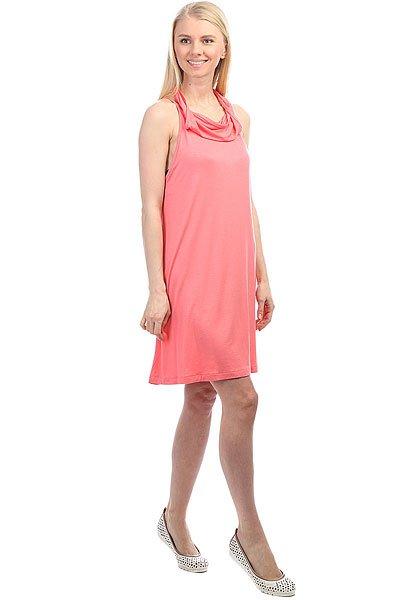 Платье женское Roxy Seeyousomesolid Lady Pink<br><br>Цвет: розовый<br>Тип: Платье<br>Возраст: Взрослый<br>Пол: Женский