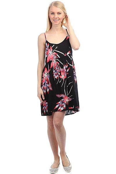 Купить со скидкой Платье женское Roxy Retrogold Anthracite Mistery F