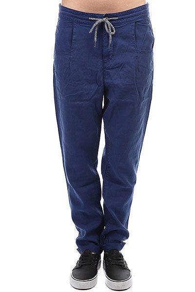 цены на Штаны прямые женские Roxy Manoflife Blue Depths в интернет-магазинах