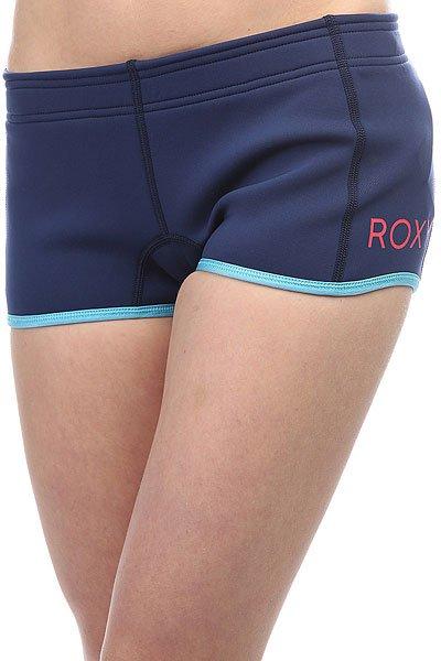 Гидрокостюм (Низ) женский Roxy 1reefshortshort Blue PrintЖенские серфовые шорты Syncro 1мм из новой коллекции Roxy.Технические характеристики: Короткая длина.Микропористая структура неопрена FN Lite представляет собой множество пузырьков воздуха, что обеспечивает ему малый вес и при этом позволяет эффективно удерживать тепло.Плоские водостойкие швы Flatlock – эластичные, прочные и мягкие.<br><br>Цвет: синий<br>Тип: Гидрокостюм (Низ)<br>Возраст: Взрослый<br>Пол: Женский