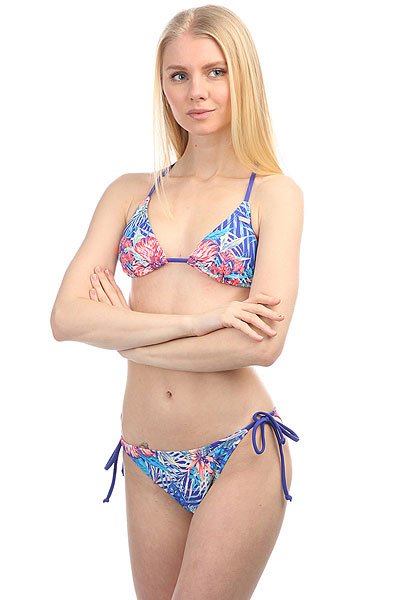 Купальник женский Roxy Mix Blos Tri/Sc J Royal Blue Beyond Lo sc j