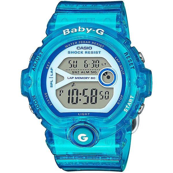 Кварцевые часы женские Casio G-Shock Baby-g 67686 Bg-6903-2bУдаропрочные наручные часы из полимерного пластика созданы для спорта и активной деятельности. Еще один плюс данной модели в длительном сроке службы аккумулятора до 7 лет.Технические характеристики: Электролюминесцентная подсветка.Ударопрочная конструкция защищает от ударов и вибрации.Дополнительный циферблат мирового времени.Функция секундомера - 1/100 сек. - 100 часов.Память на 60 кругов.Таймер - 1/1 мин. - 24 часа (с автоматическим повтором).Будильник с тремя многофункциональными звуковыми сигналами.Функция повтора будильника.Включение/выключение звука кнопок.Автоматический календарь.12/24-часовое отображение времени.Минеральное стекло.Корпус из полимерного пластика.Ремешок из полимерного материала.Срок службы аккумулятора 7 лет.<br><br>Цвет: черный<br>Тип: Кварцевые часы<br>Возраст: Взрослый<br>Пол: Женский