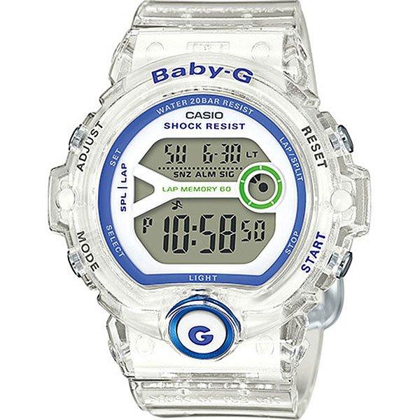 Кварцевые часы женские Casio G-Shock Baby-g 67687 Bg-6903-7dУдаропрочные наручные часы из полимерного пластика созданы для спорта и активной деятельности. Еще один плюс данной модели в длительном сроке службы аккумулятора до 7 лет.Технические характеристики: Электролюминесцентная подсветка.Ударопрочная конструкция защищает от ударов и вибрации.Дополнительный циферблат мирового времени.Функция секундомера - 1/100 сек. - 100 часов.Память на 60 кругов.Таймер - 1/1 мин. - 24 часа (с автоматическим повтором).Будильник с тремя многофункциональными звуковыми сигналами.Функция повтора будильника.Включение/выключение звука кнопок.Автоматический календарь.12/24-часовое отображение времени.Минеральное стекло.Корпус из полимерного пластика.Ремешок из полимерного материала.Срок службы аккумулятора 7 лет.<br><br>Цвет: белый<br>Тип: Кварцевые часы<br>Возраст: Взрослый<br>Пол: Женский
