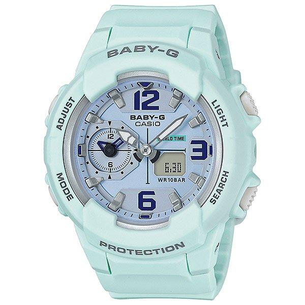Кварцевые часы женские Casio G-Shock Baby-g 67688 Bga-230sc-3bКомпактные женские часы в дизайне без лишних деталей. Все необходимые функции собраны в одной модели на каждый день.Технические характеристики: Светодиодная подсветка.Ударопрочная конструкция защищает от ударов и вибрации.Функция мирового времени.Dual Time Display.Функция секундомера - 1 час.Таймер - 1/1 мин. - 1 час.Ежедневный будильник.Включение/выключение звука кнопок.Функция перемещения стрелок.Автоматический календарь.12/24-часовое отображение времени.Минеральное стекло.Корпус из полимерного пластика.Ремешок из полимерного материала.Срок службы аккумулятора 2 года.<br><br>Цвет: голубой<br>Тип: Кварцевые часы<br>Возраст: Взрослый<br>Пол: Женский