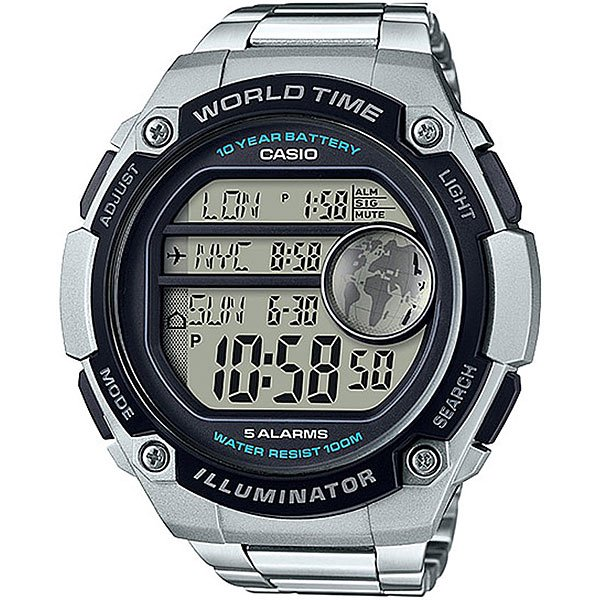 Электронные часы Casio Collection 67697 Ae-3000wd-1a часы casio collection ae 1000wd 1a grey
