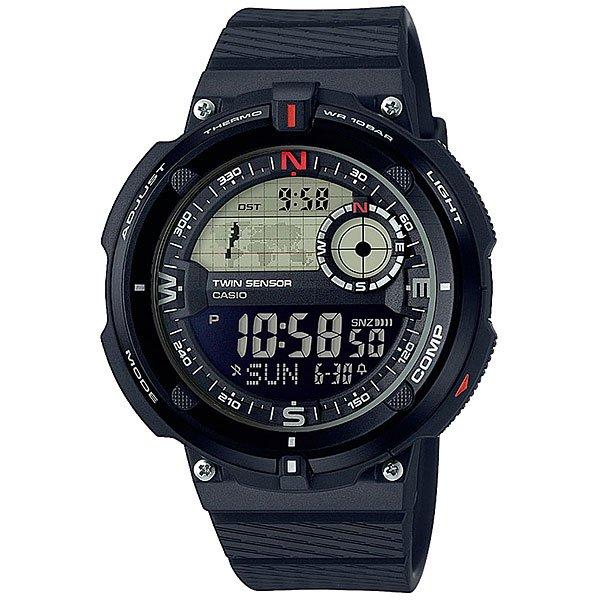 Электронные часы Casio Collection 67698 Sgw-600h-1b casio часы casio sgw 600h 1b коллекция digital
