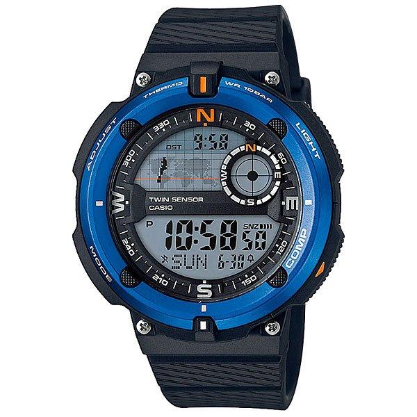 Электронные часы Casio Collection 67699 Sgw-600h-2a casio часы casio sgw 600h 1b коллекция digital