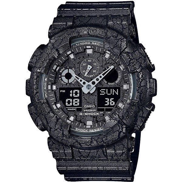 Кварцевые часы Casio G-Shock 67663 Ga-100cg-1aУдаропрочные наручные часы с удобными функциями для спорта и активного отдыха.Технические характеристики: Автоматическая светодиодная подсветка.Ударопрочная конструкция защищает от ударов и вибрации.Устойчивость к воздействию магнитного поля.Функция мирового времени.Функция секундомера - 1/1000 сек. - 100 часов.Таймер - 1/1 мин. - 24 часа (с автоматическим повтором).5 ежедневных будильников.Функция повтора будильника.Отображение скорости.Автоматический календарь.12/24-часовое отображение времени.Минеральное стекло.Корпус из полимерного пластика.Ремешок из полимерного материала.Срок службы аккумулятора 2 года.<br><br>Цвет: черный<br>Тип: Кварцевые часы<br>Возраст: Взрослый<br>Пол: Мужской