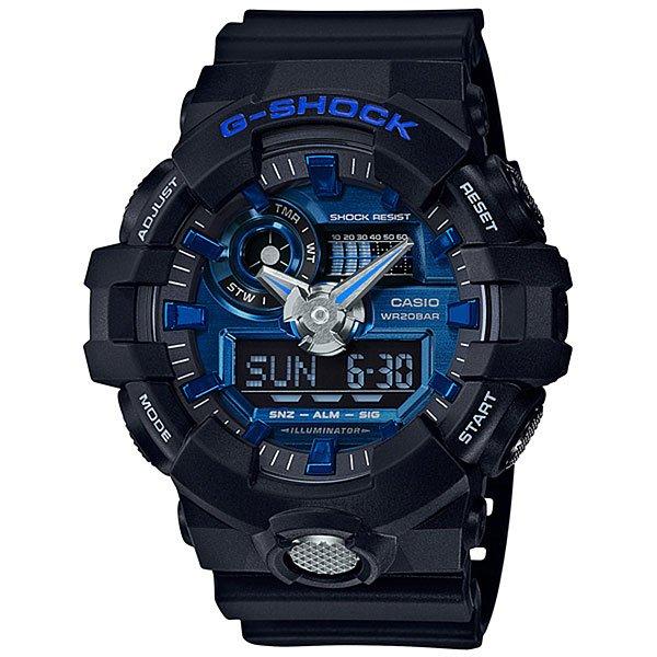 Кварцевые часы Casio G-Shock 67669 Ga-710-1a2Многофункциональные наручные часы в корпусе из полимерного пластика с увеличенным сроком службы аккумулятора.Технические характеристики: Сверх яркая подсветка.Ударопрочная конструкция защищает от ударов и вибрации.Функция мирового времени.Функция секундомера- 1/100 сек. - 24 часа.Таймер - 1/1 мин. - 1 час.5 ежедневных будильников.Функция повтора будильника.Включение/выключение звука кнопок.Функция перемещения стрелок.Автоматический календарь.12/24-часовое отображение времени.Минеральное стекло.Корпус из полимерного пластика.Ремешок из полимерного материала.Срок службы аккумулятора 5 лет.<br><br>Цвет: черный<br>Тип: Кварцевые часы<br>Возраст: Взрослый<br>Пол: Мужской