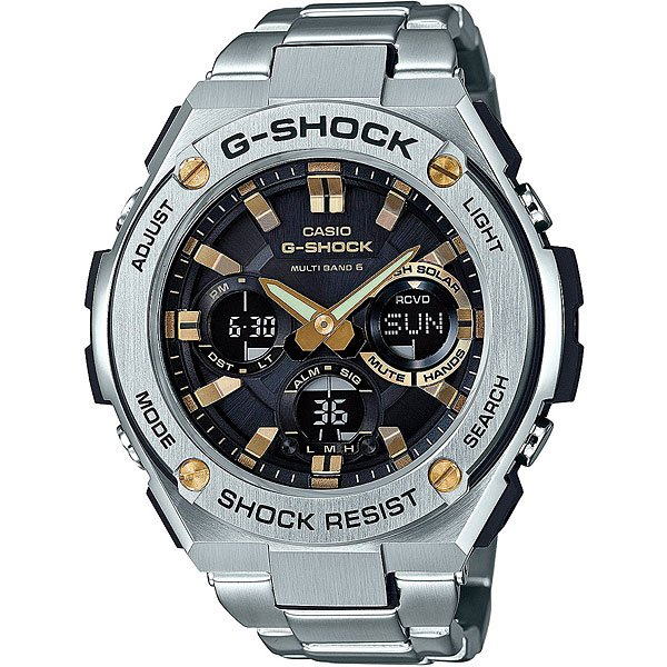 Кварцевые часы Casio G-Shock 67676 Gst-w110d-1a9 casio g shock g classic ga 110mb 1a