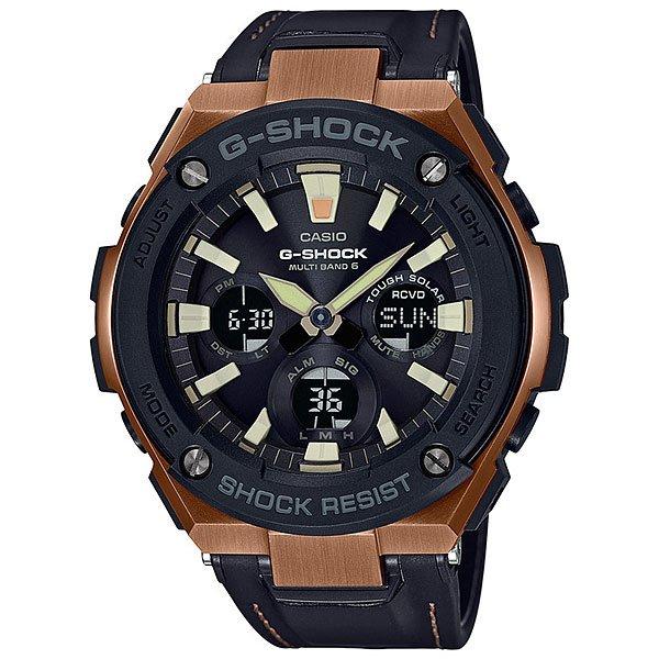 цена Кварцевые часы Casio G-Shock 67679 Gst-w120l-1a онлайн в 2017 году