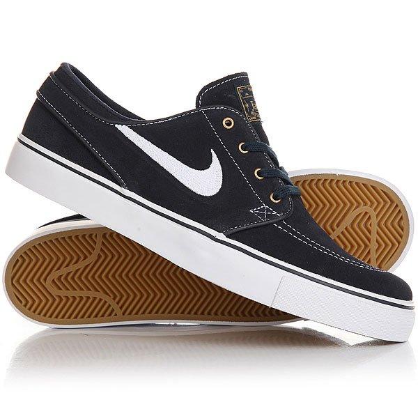 Кеды кроссовки низкие Nike Zoom Stefan Janoski Dark Obsidian
