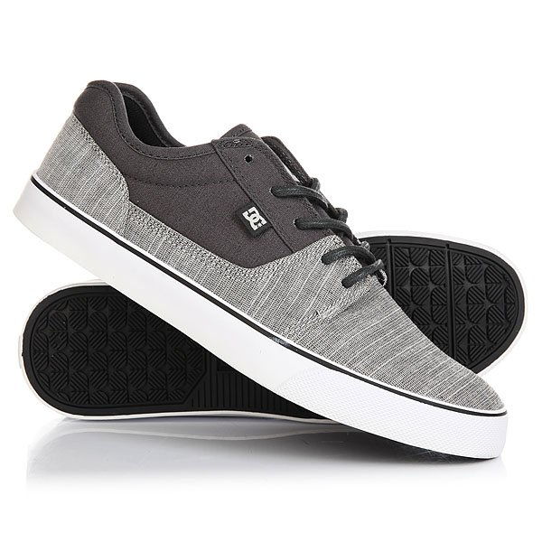 Кеды кроссовки низкие DC Tonik Tx Se Charcoal Grey dc shoes кеды dc shoes tonik tx red 11